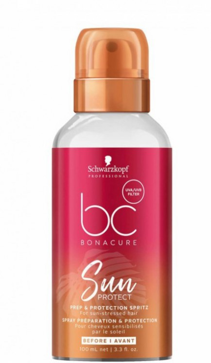 bc Sun Protect Prep & Protection Spritz Спрей для волос Защита от солнца, 100 мл